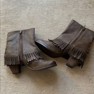 Naughty Monkey western style boots. New.